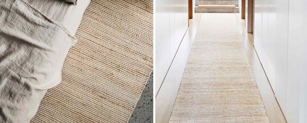 drift natural & white area rugs