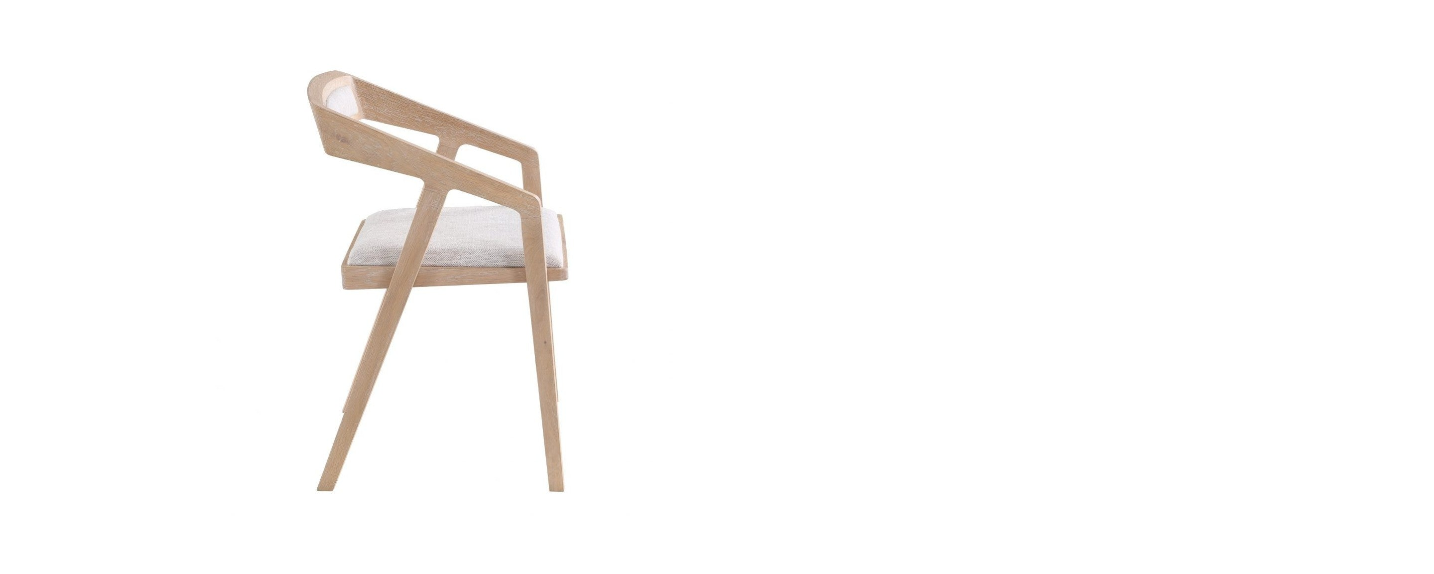 the flying point oak dining chair