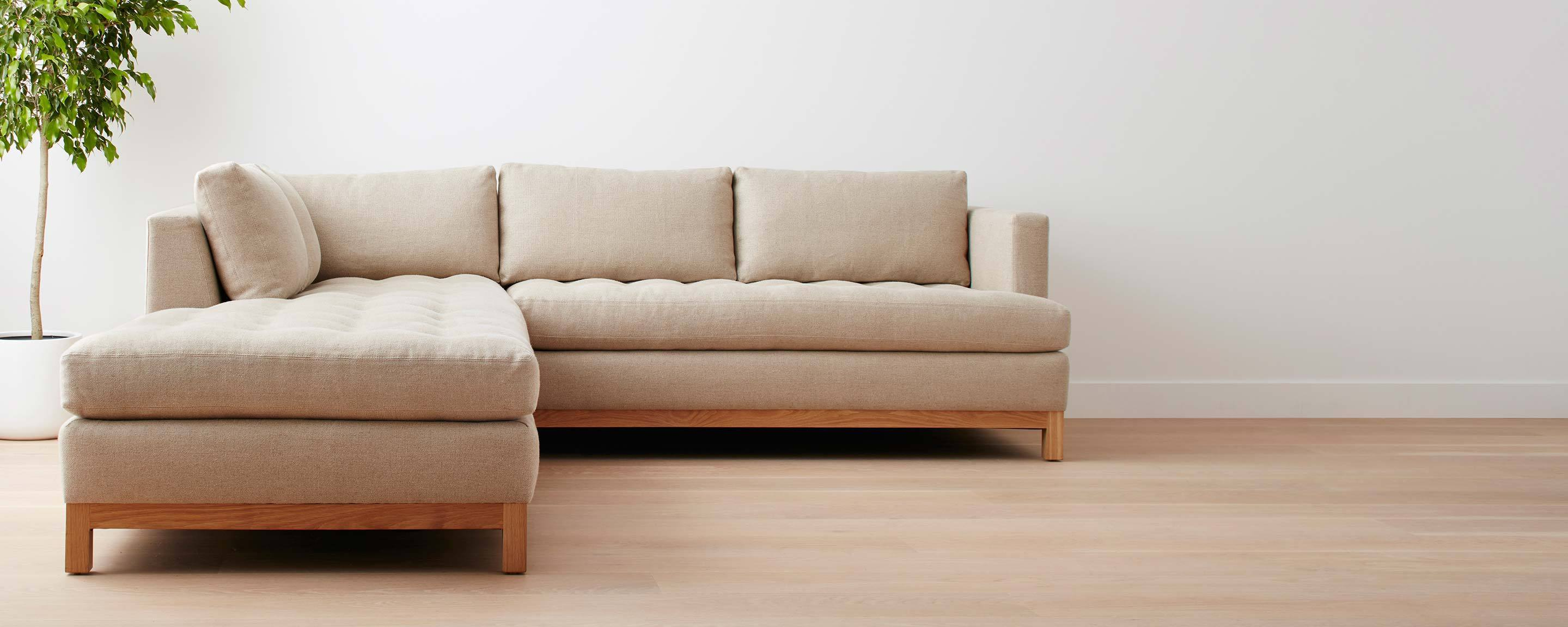 the homenature del mar sofa / sectional