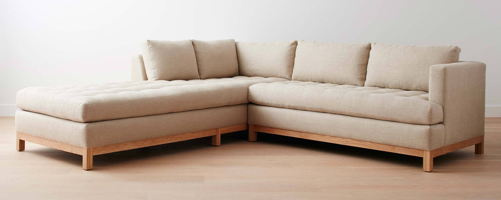 the del mar sofa / sectional