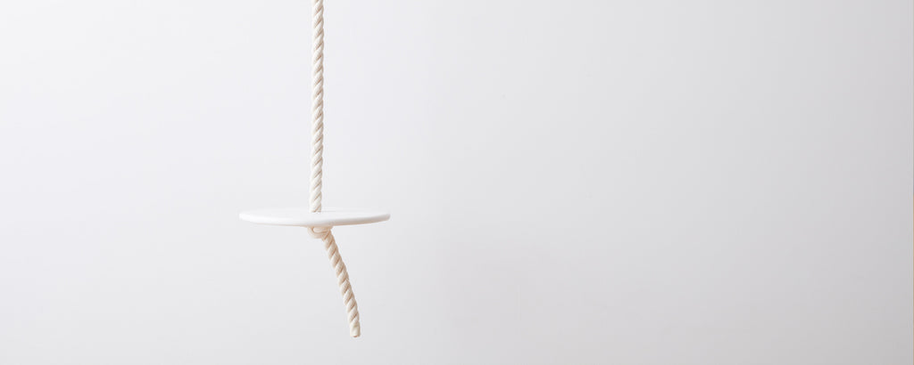 resin rope swing by tina frey