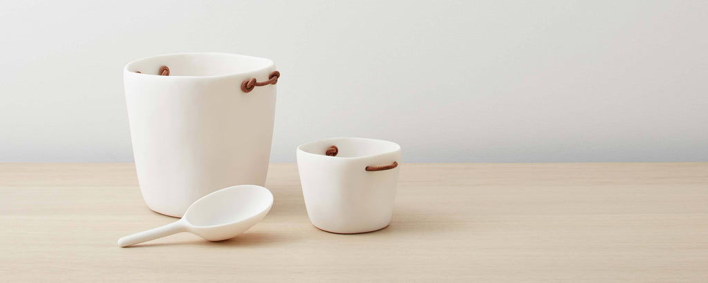 resin buckets and scoop by tina frey