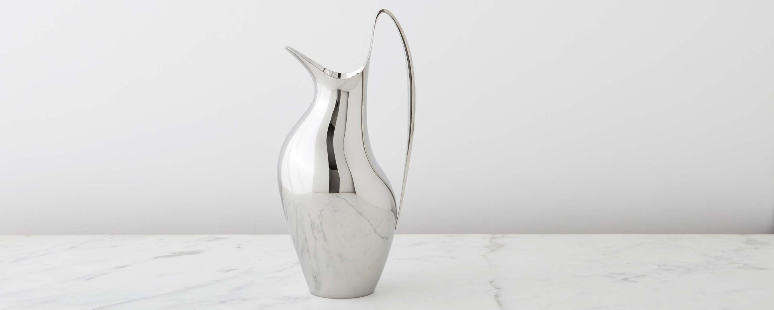 1.9 l pitcher by henning koppel for georg jensen
