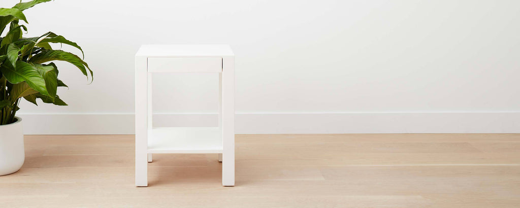 lacquer lido end table