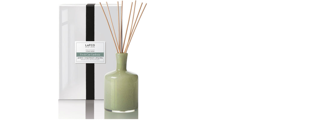 fresh cut gardenia living room diffuser by lafco new york