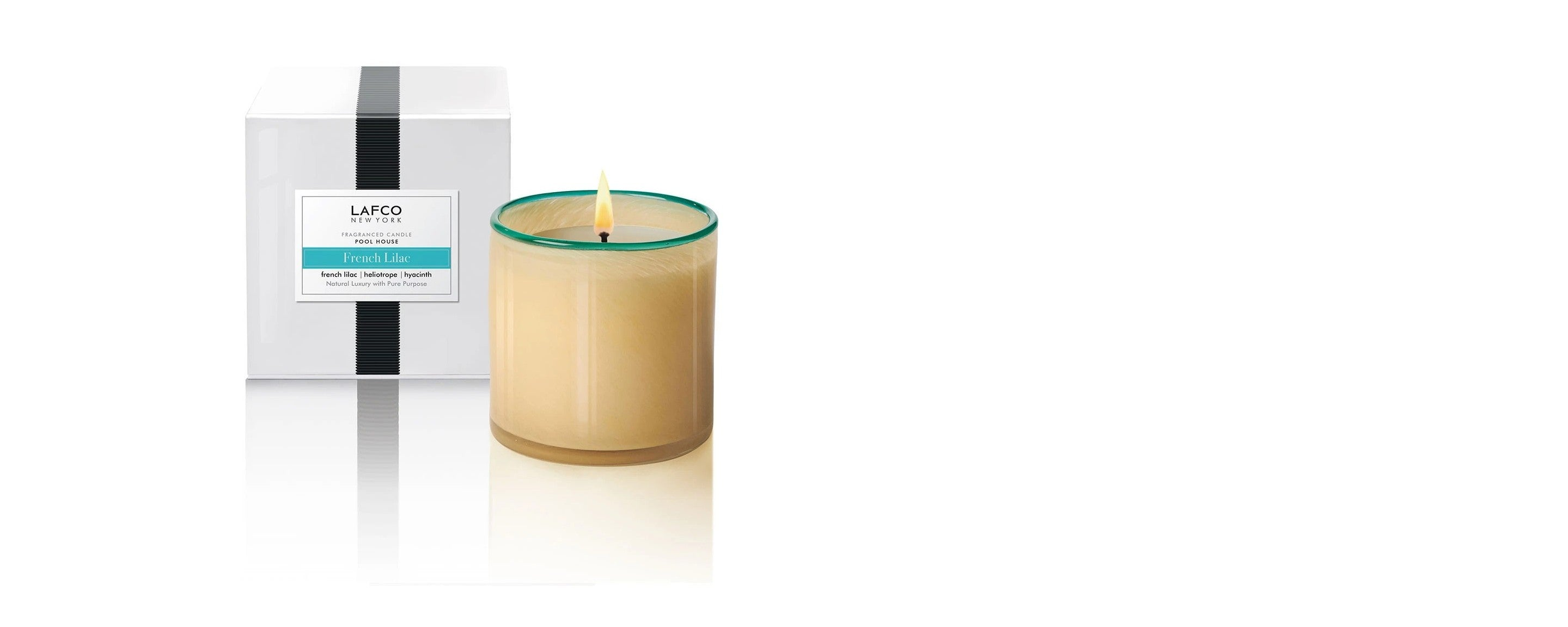 french lilac pool house candle by lafco new york