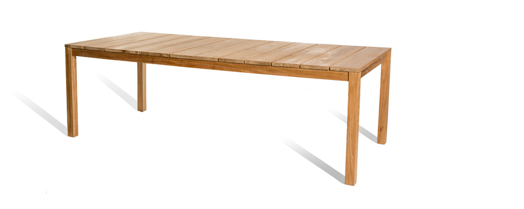 oxno large teak table