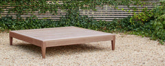sapele wood outdoor coffee table
