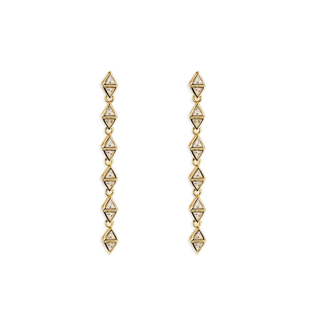 Triangle Drop Earrings