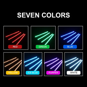 Remote Control Interior LED Lights (4 PCs)