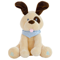 Cute Interactive Peek a Boo Dog - Plush Toy