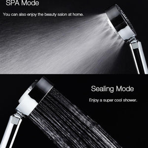 3 Modes Double-sided SPA Shower Head