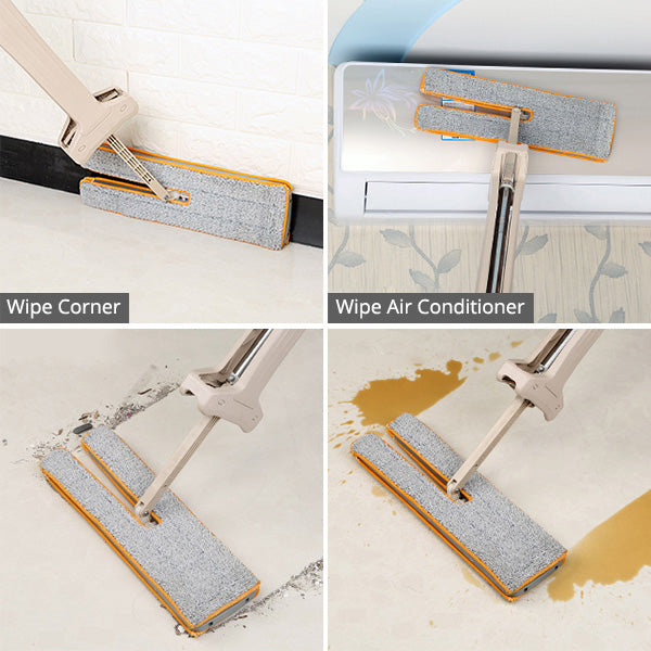 Self-Wringing Double Sided Mop
