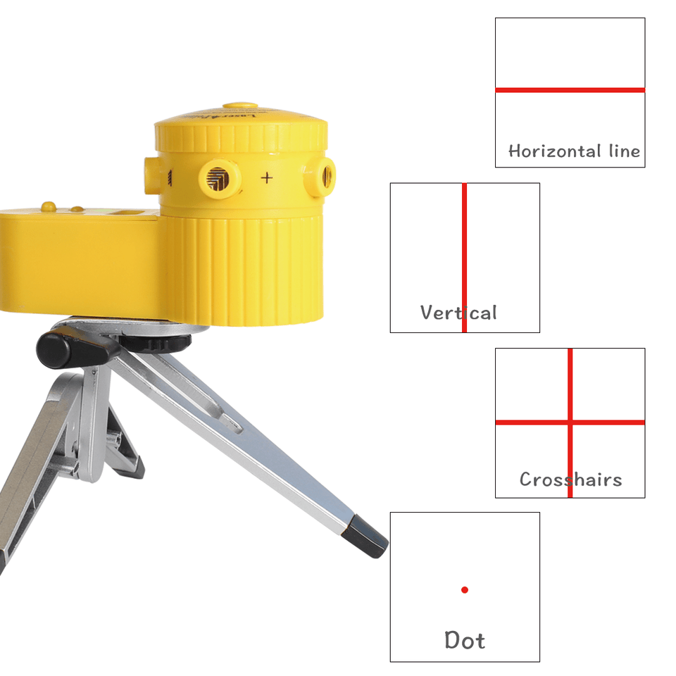 Multifunction Laser Leveler with Tripod