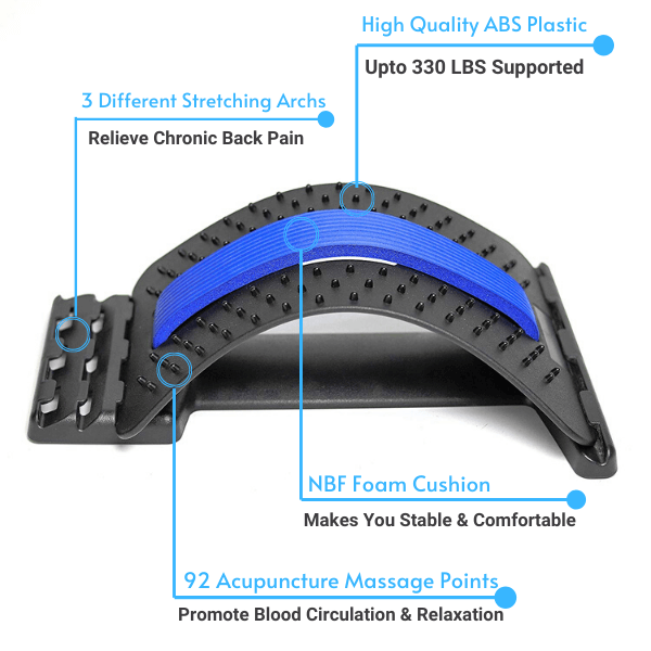 Premium Back Stretcher for Back Pain