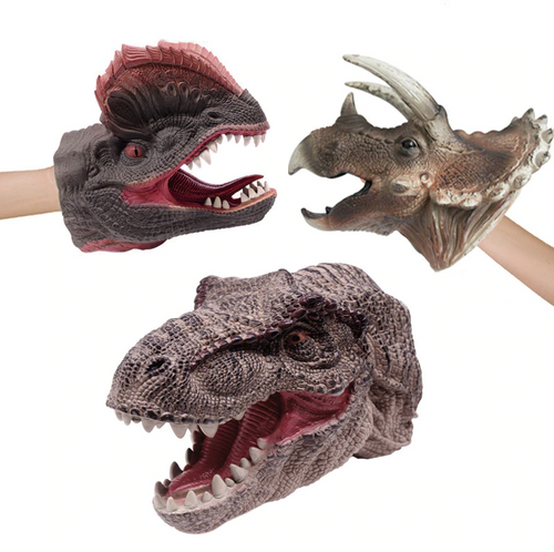 3D Realistic Dinosaur Hand Puppets
