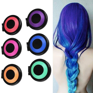 Reusable & Washable Fast Hair Dye Set [6 Pieces]