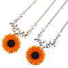 Stylish Sunflower Pendant