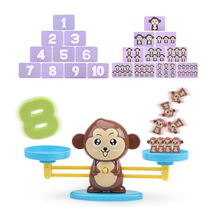 Monkey Balancing Scale - Educational Toy