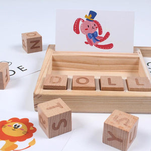Spelling Building Blocks