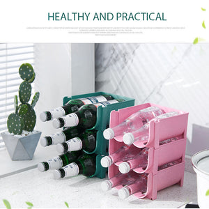 Stackable Drinks Storage Rack