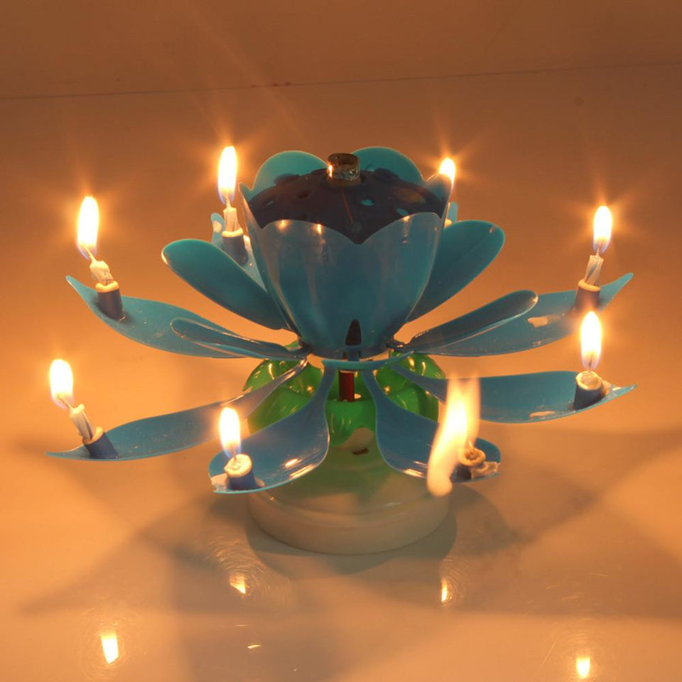 Unique & Fancy Musical Candle For Birthday Party