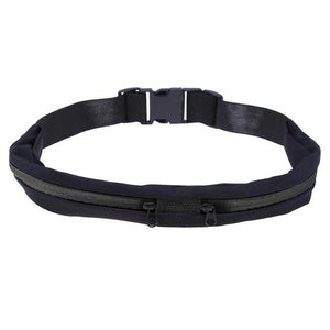 Slim Waist Pocket Belt - For Jogging, Cycling & Gym