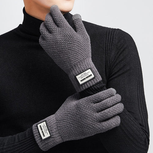 Pure Wool Knitted Gloves