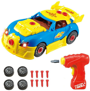[DIY Toy] Race Car Set with Electric Drill