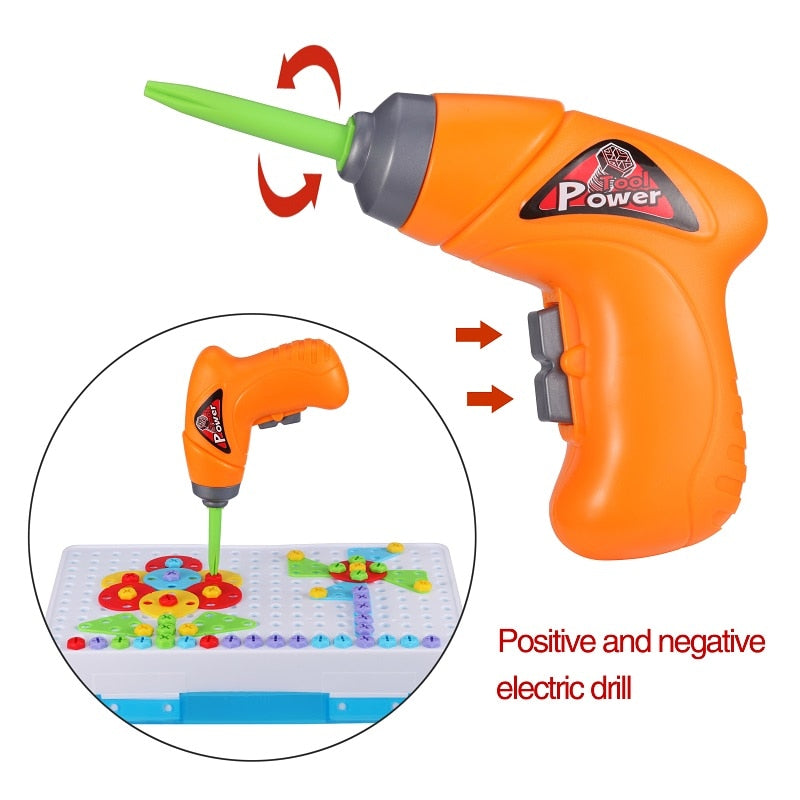 Children's Electric Drill Set