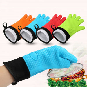 Heat Resistant Barbecue Gloves (1 Pair)