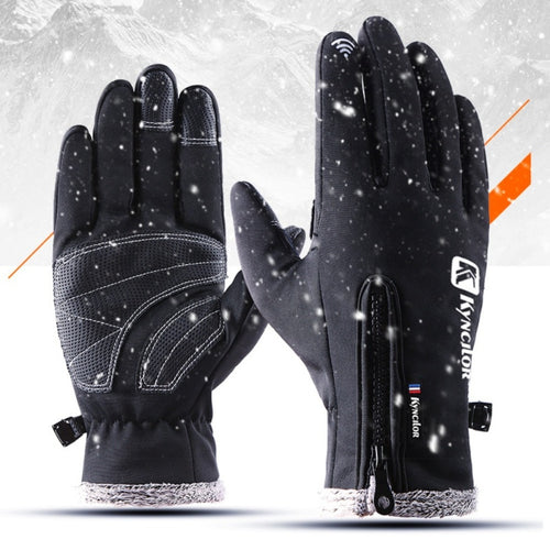 Waterproof Thermal Winter Gloves (Touch-Screen Compatible)