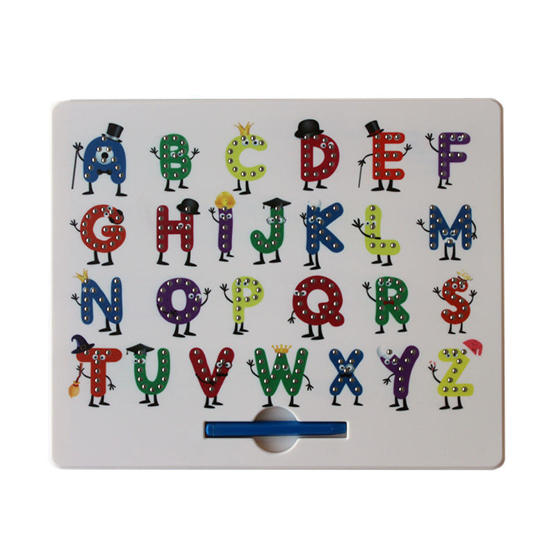 Magnetic Alphabet and Number Doodle Pad