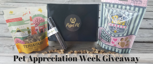 Pet Appreciation Week Giveaway