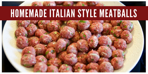 Homemade Italian-Style Meatball Dog Treat Recipe