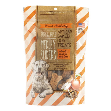 Pork & Apple Medley Sliders - Paws Barkery (13 oz)