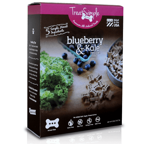 TreatSimple Blueberry & Kale Small Dog Bones (12 oz)