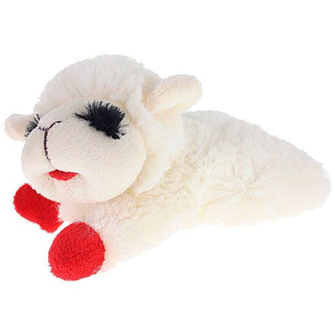 Lamb Chop Plush Dog Toy - 6 Inch