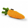 Garden Fresh Carrot Plush Dog Toy