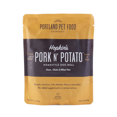 Hopkins' Pork N' Potato Grain & Gluten Free Pouch Meal (9 oz)