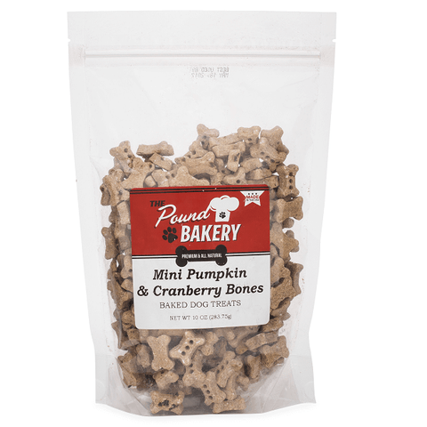 Tiny Pumpkin & Cranberry Bone (10 oz) - The Pound Bakery