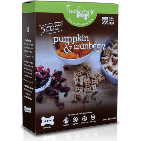 TreatSimple Pumpkin & Cranberry (12 oz)