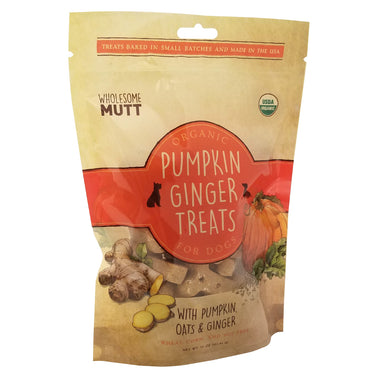 Organic Pumpkin Ginger Treats