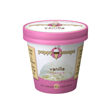 Vanilla Puppy Scoops Ice Cream Mix for Dogs