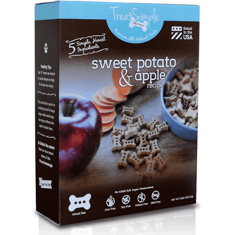 TreatSimple Sweet Potato & Apple Dog Bones (12 oz)