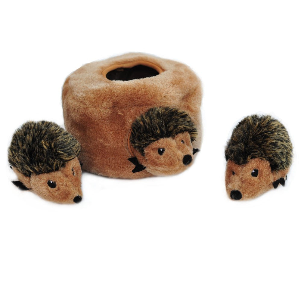 ZippyPaws Hedgehog Den Dog Toy | Hedgehog Dog Toys