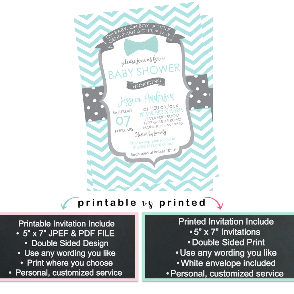 Exotic Floral Bridal Shower Invitations
