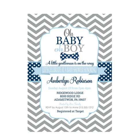 Lovely Floral Bridal Shower Invitations
