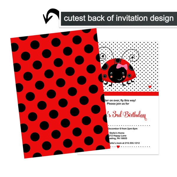 Halloween Party Invitations Set of 15 Cards with Envelopes - Fun Wicked Witch Orange and Black