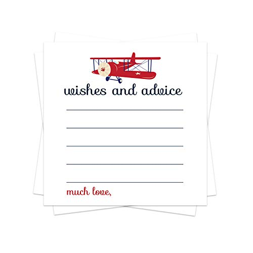 Airplane Advice Cards (25 Pack)